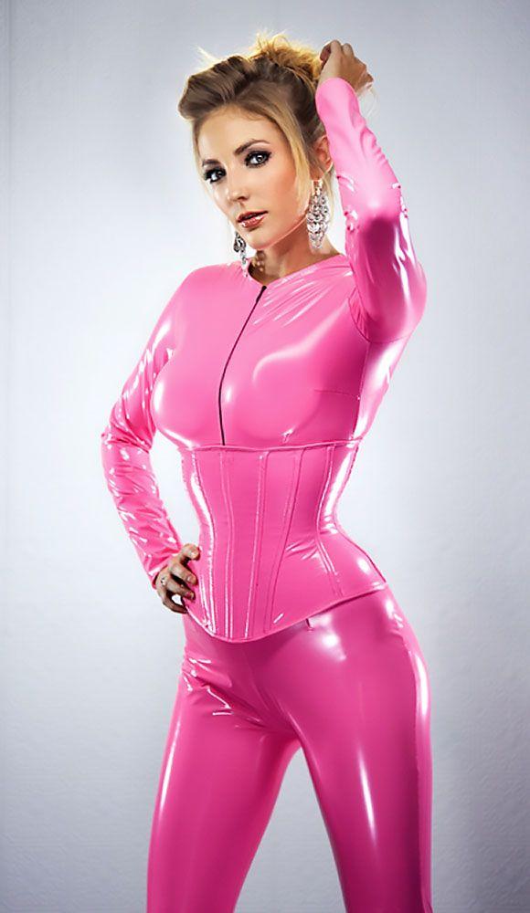 Pink Latex Doll