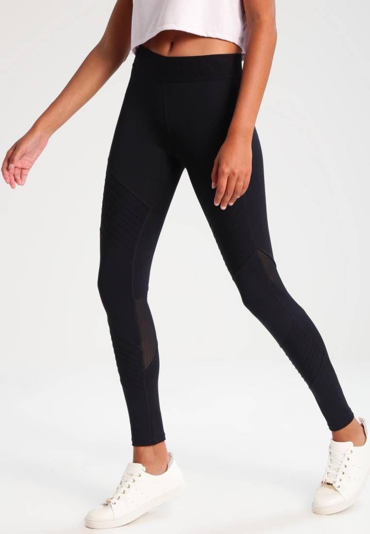 5ae3b7627e4076 Ivy Park. PINTUCK - Leggings - Hosen - black. Details:elastischer ...
