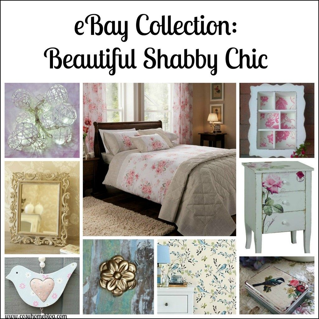 Lovely Shabby Chic Home Shopping Ideas   EBay UK Collections By Cosy Home  Blog