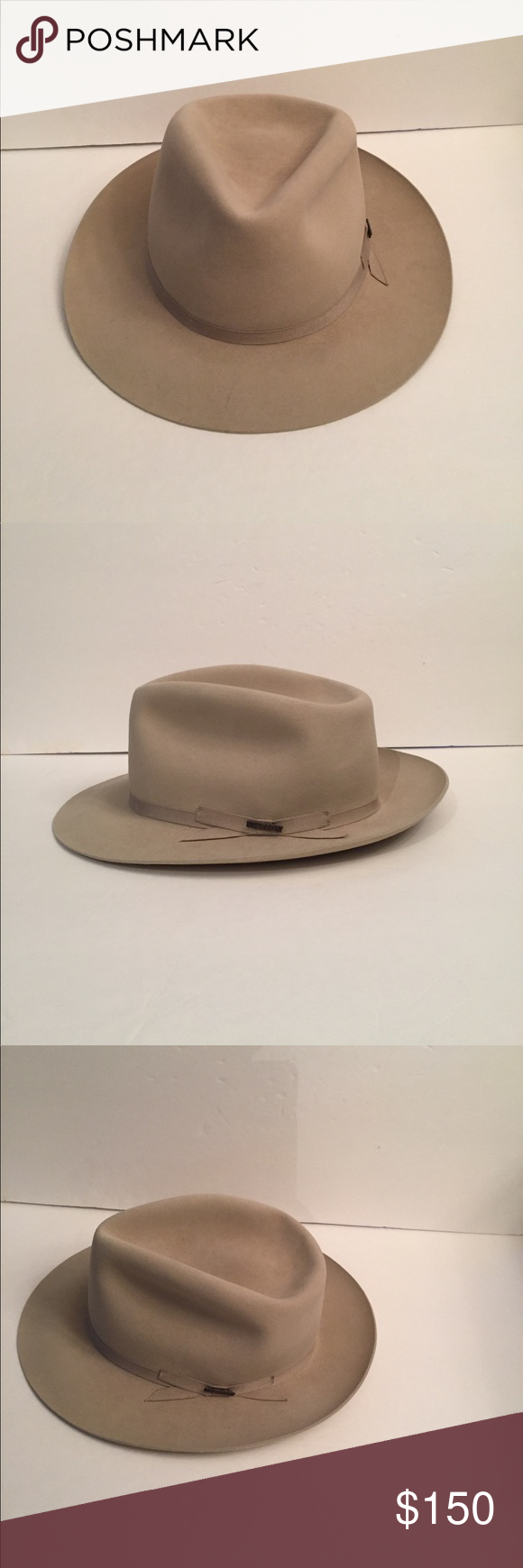 online store f6929 ef9df ... sweden mens moose river stetson felt fedora fishing hat product created  for anglers stetson moose 11464