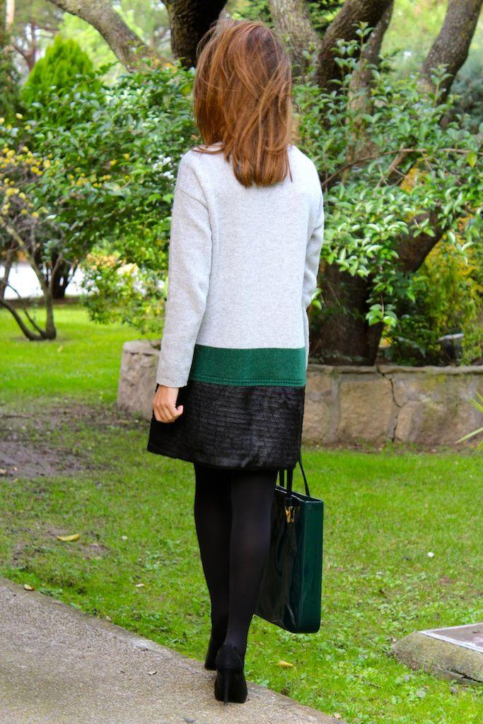 Fashion and Style Blog / Blog de Moda . Post: Happy Thanksgiving day! / Feliz día de Acción de Gracias .More pictures on/ Más fotos en : http://www.ohmylooks.com/?p=25418 .Llevo/I wear: Jacket/Chaqueta : Limoneta ; Bag/Bolso : Barada ; Shoes/Zapatos : Pilar Burgos ; Sunglasses/Gafas de sol : Ray ban