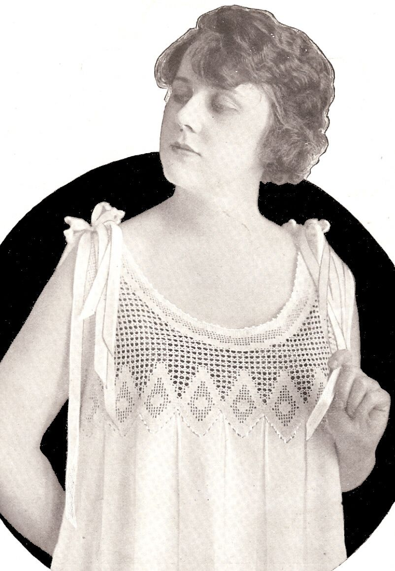Vintage antique filet crochet nightgown yoke pattern need to look vintage antique filet crochet nightgown yoke pattern need to look through entire site to find dt1010fo