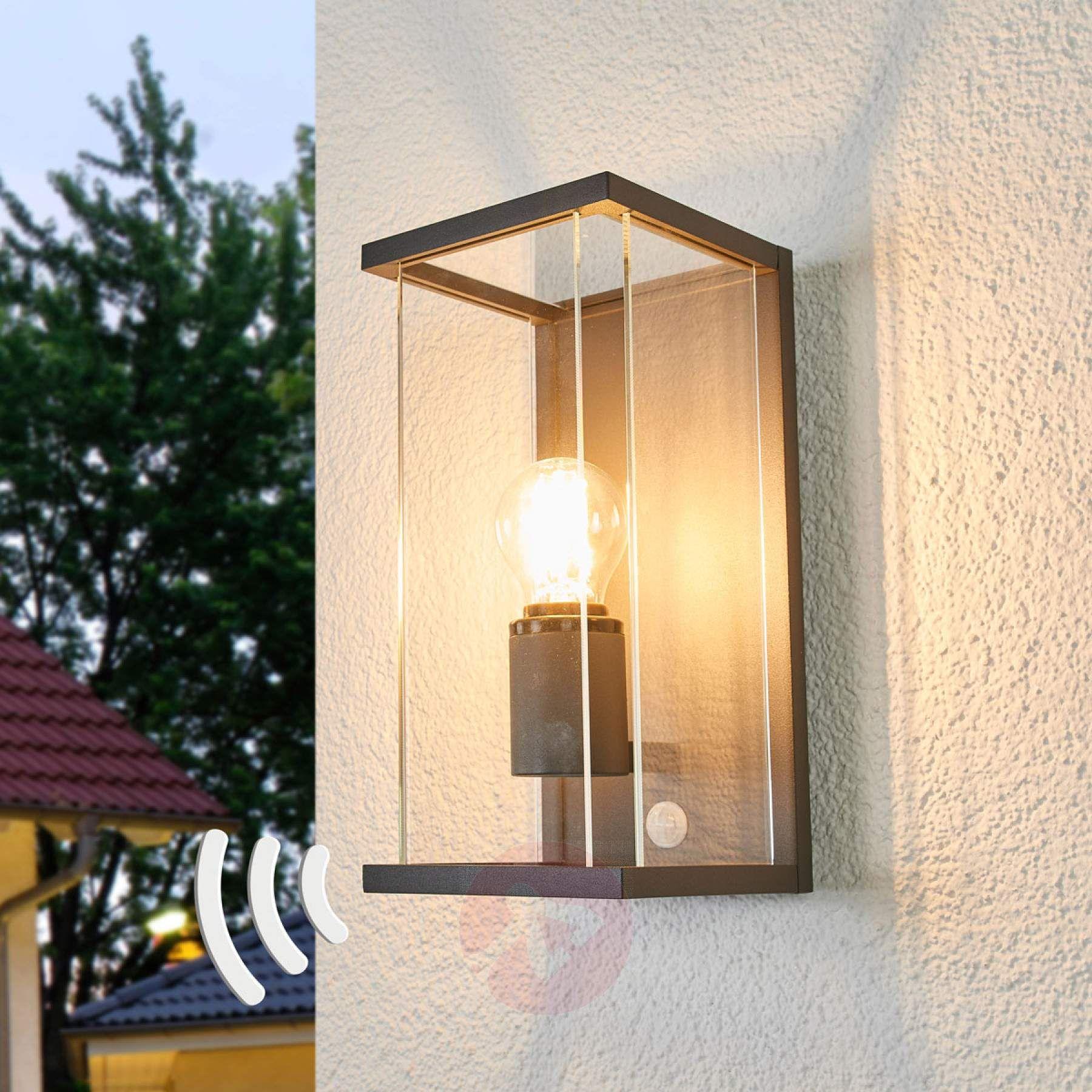 Bewegungsmelder Aussenwandlampe Annalea Outdoor Wandleuchten Aussenwandbeleuchtung Aussenwandlampen
