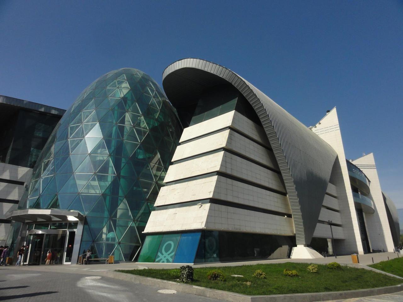 Baku Park Boulevard Shopping Center Azerbaijan Architecture Shopping Tour Shopping Center Architecture