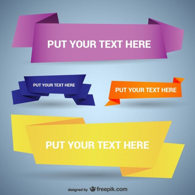 download banner templates
