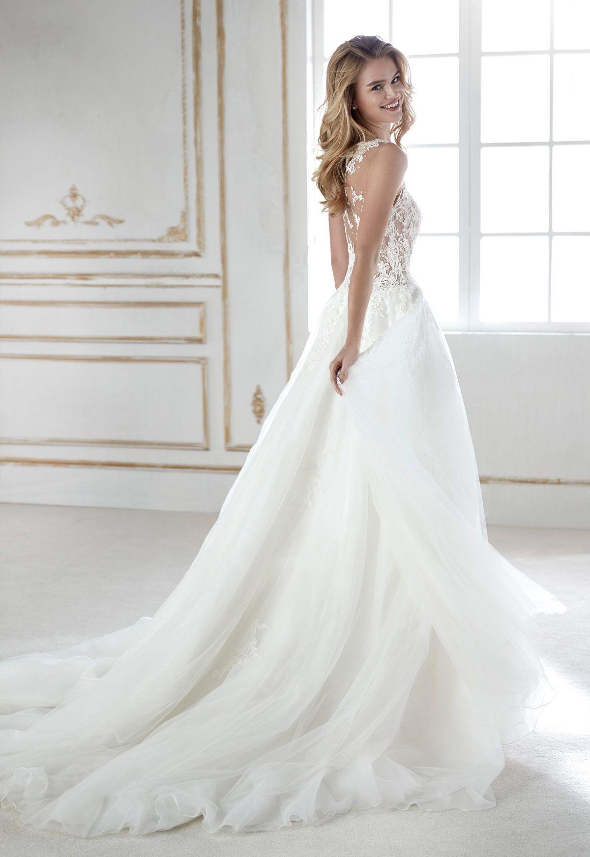 d09f9c6336 Vestido de novia La Sposa modelo Perla - Eva Novias