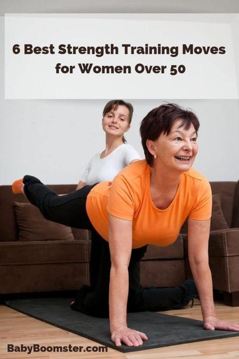 6 Best Strength Training Moves for Women Over 50