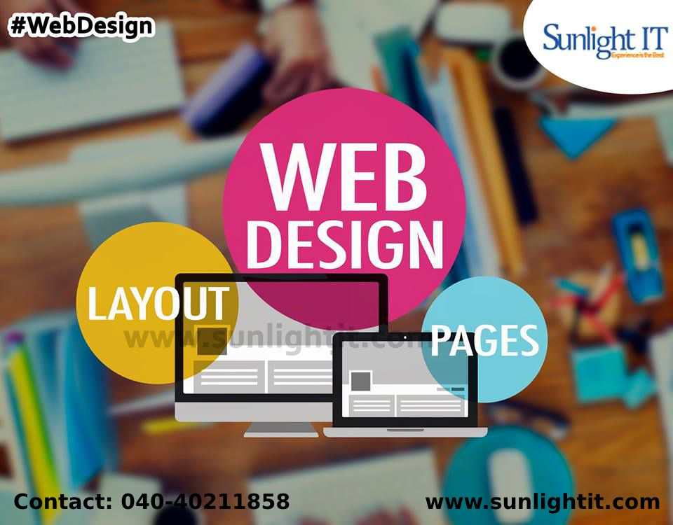 Sunlight It Is Leading Web Design Company Located In Hyderabad Our Services Are With High Quality An Website Design Company Web Design Professional Web Design