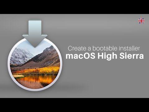 how to create a bootable installer for macos youtube