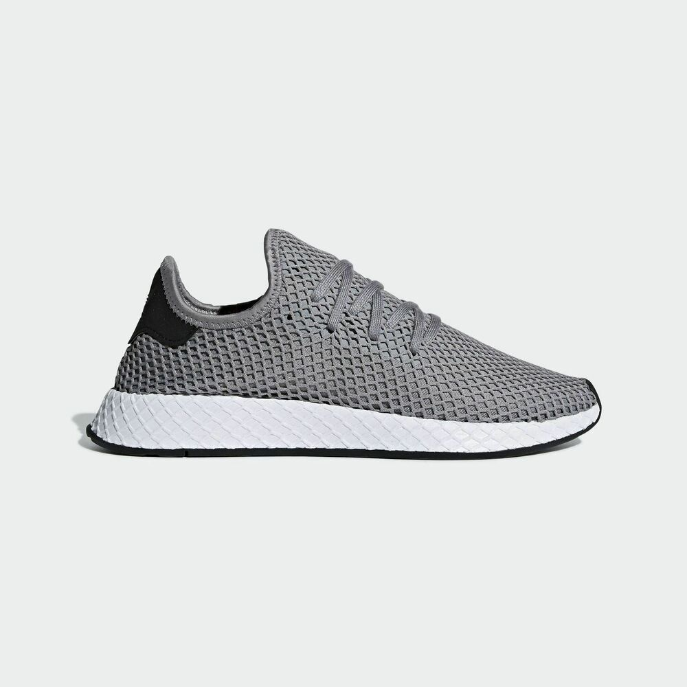 9fb5124e864aa NEW ADIDAS ORIGINALS DEERUPT RUNNER  B41766  MEN S SIZE 13 SHOES GRAY WHITE   fashion  clothing  shoes  accessories  mensshoes  athleticshoes (ebay link)