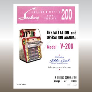 Seeburg Jukebox Manuals & Literature, PDF Downloads Safe and
