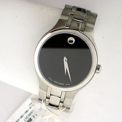 Movado Collection 0606367 Stainless Steel Link Band Black Swiss Quartz Watch https://t.co/1yPkZPqEVX https://t.co/JZ8WZEL5hP