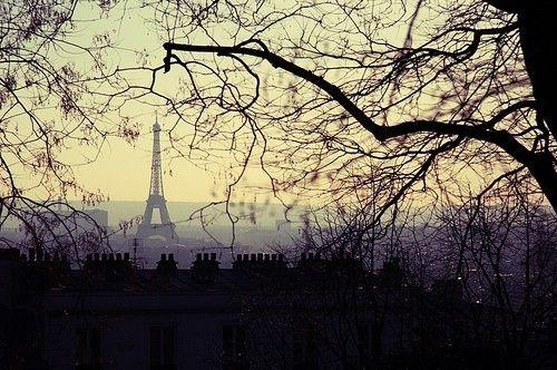 Paris nearly at night ...