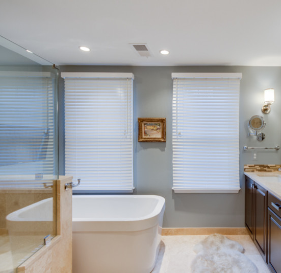 Love this cube tub! Transitional Bathroom Design Guidelines ...