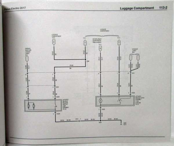 17 focus electric wiring diagram  electrical wiring