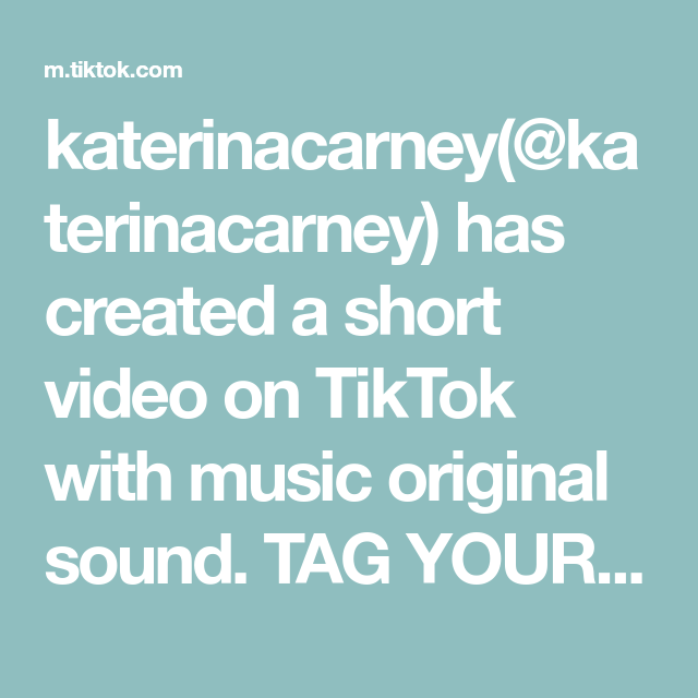 Katerinacarney Katerinacarney Has Created A Short Video On Tiktok With Music Original Sound Tag Your Fr The Originals Night Time Skin Care Routine Acne Help