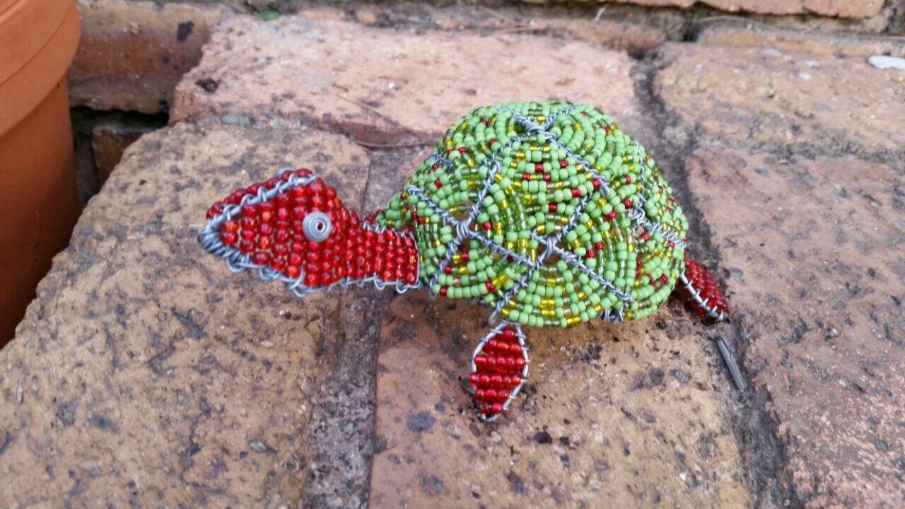 Beaded tortoise so cute for the home pinterest tortoise