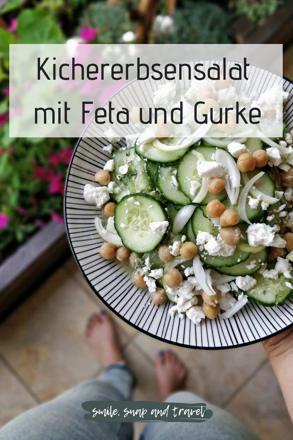 Photo of Chickpea salad with feta – smile, snap and travel