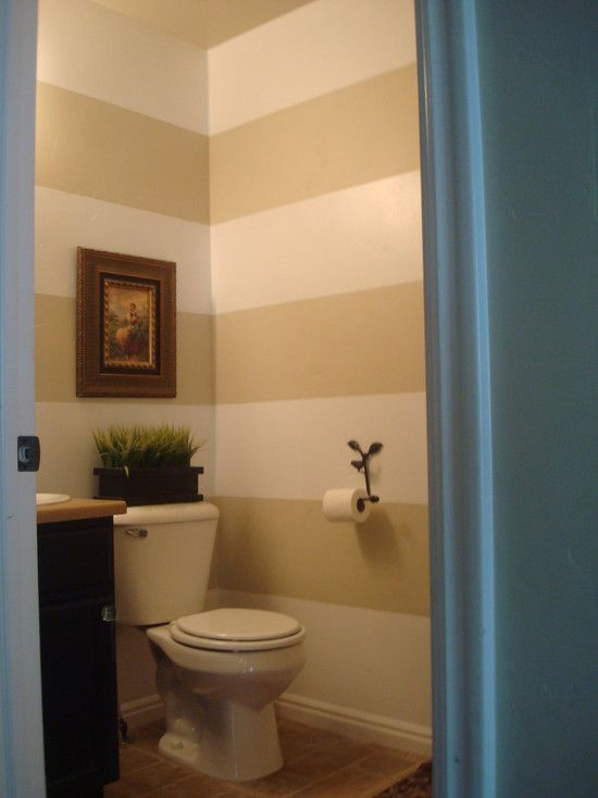 Bathroom Horizontal Stripe Design. Perfect to make the bathroom look on stripe designs for dining rooms, striped bathroom walls, designs painted striped walls,
