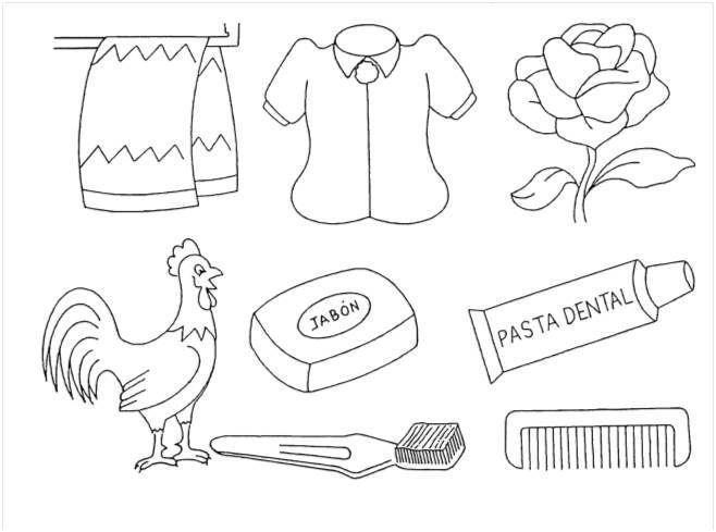 Resultado de imagen para images para colorear de la higiene corporal ...