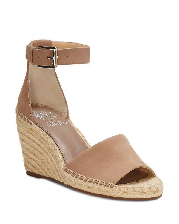 f68211ceca16 Vince Camuto Women s Leera Suede Espadrille Wedge Sandals