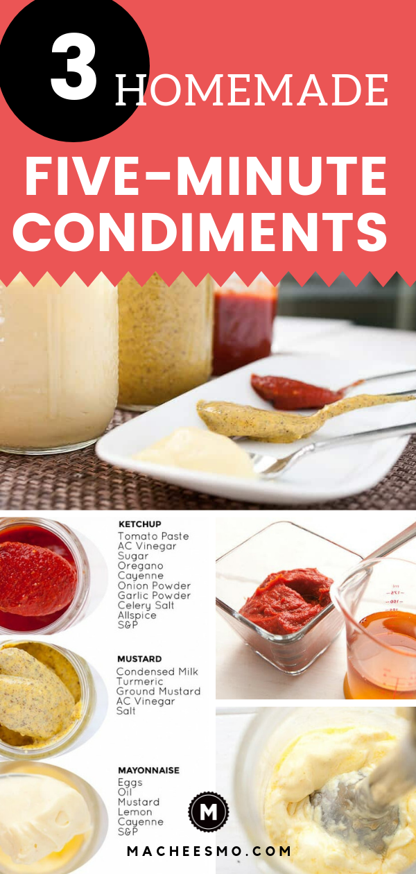 Homemade Five-Minute Condiments images