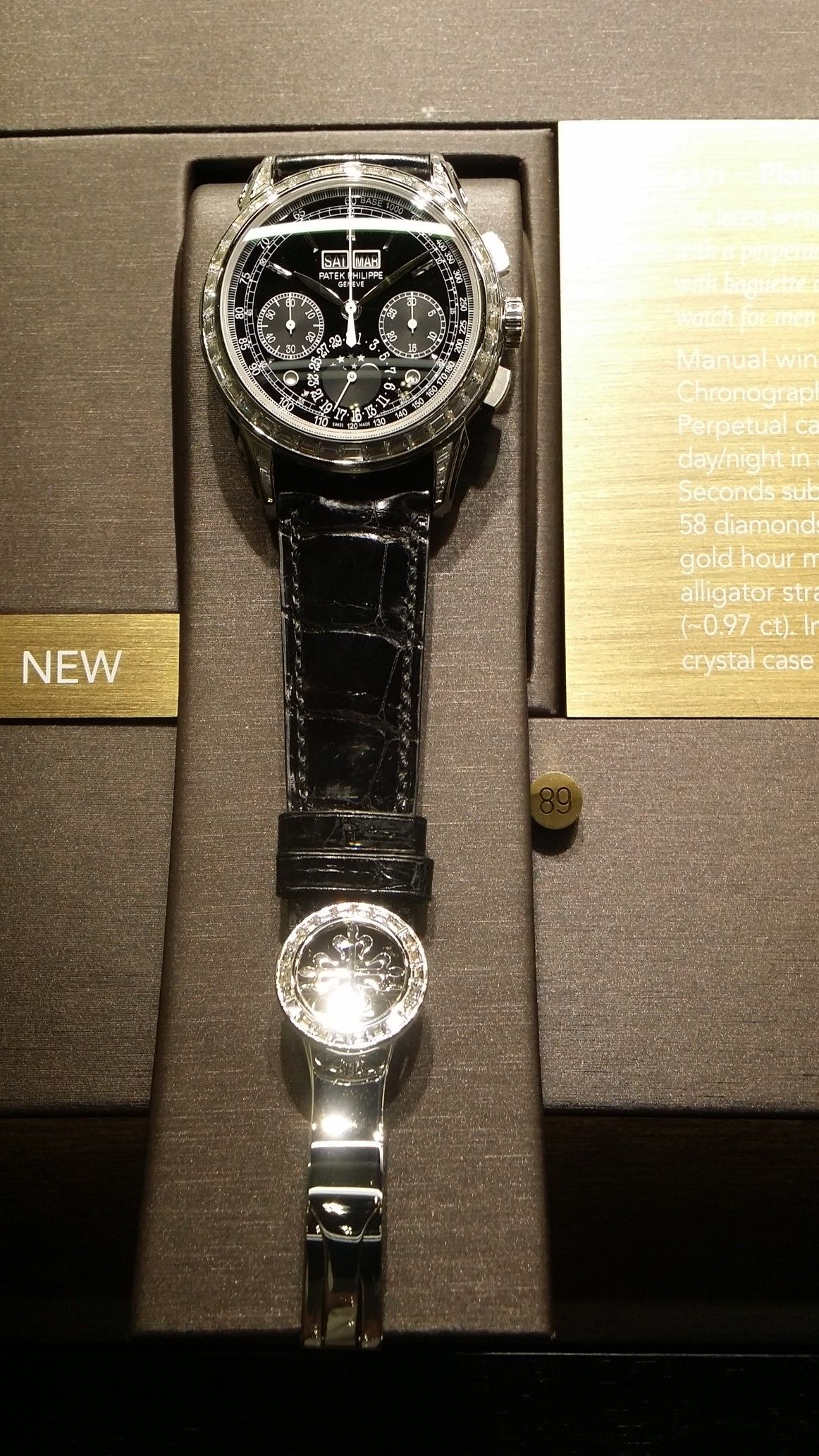 WatchFacts was at Baselworld 2014! Check out this new Patek Philippe 5271