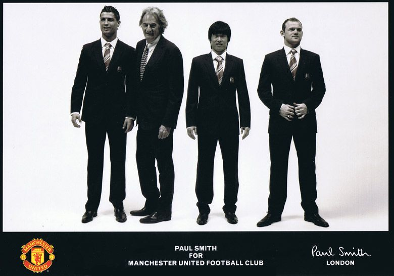 Sir Paul Smith For Man Utd British Style Fashion Design Paul Smith