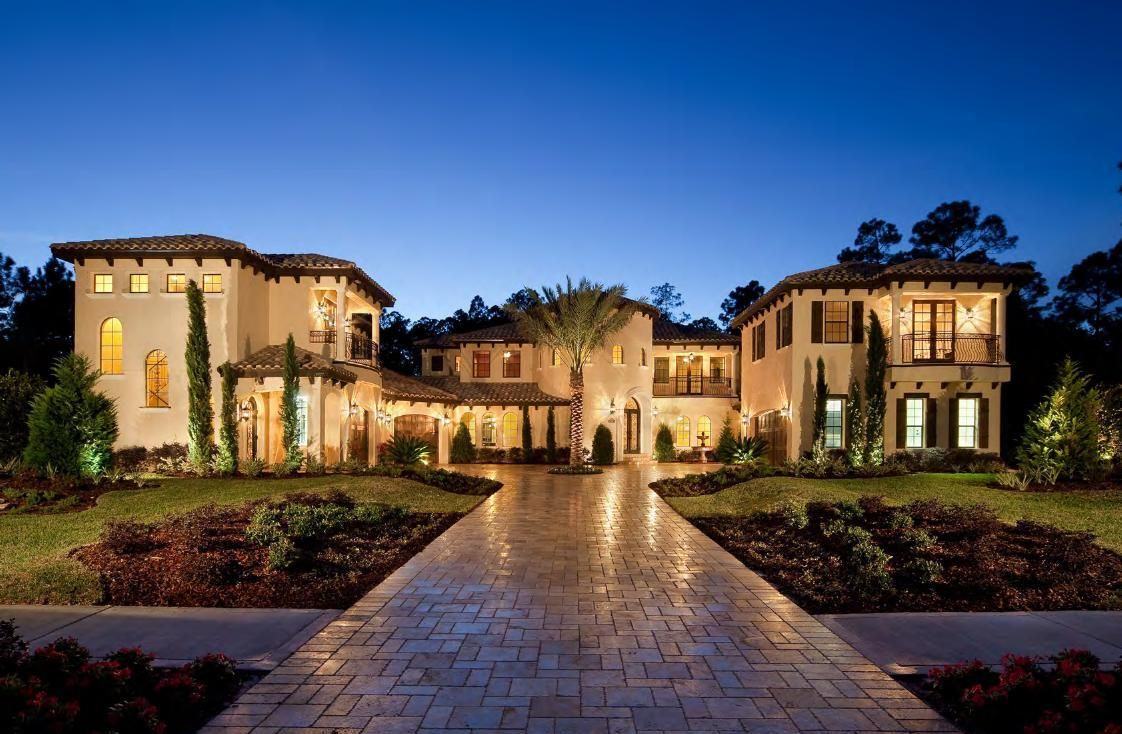 Tuscan Style Design Luxury Homes Dream Houses Mansions