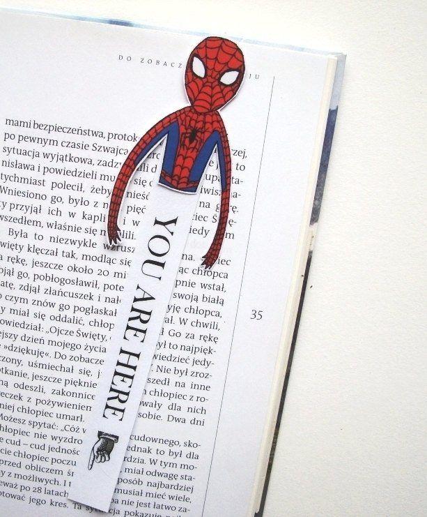 Deadpool spiderman bookmarks spideypool marvel | Etsy