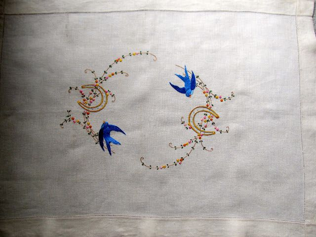 In My Sewing Box: Embroidery Revisited