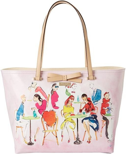 Kate Spade Ooh La La Francis Bruno Cafe Bags And Luggage Bags Womens Tote Bags Purses And Handbags