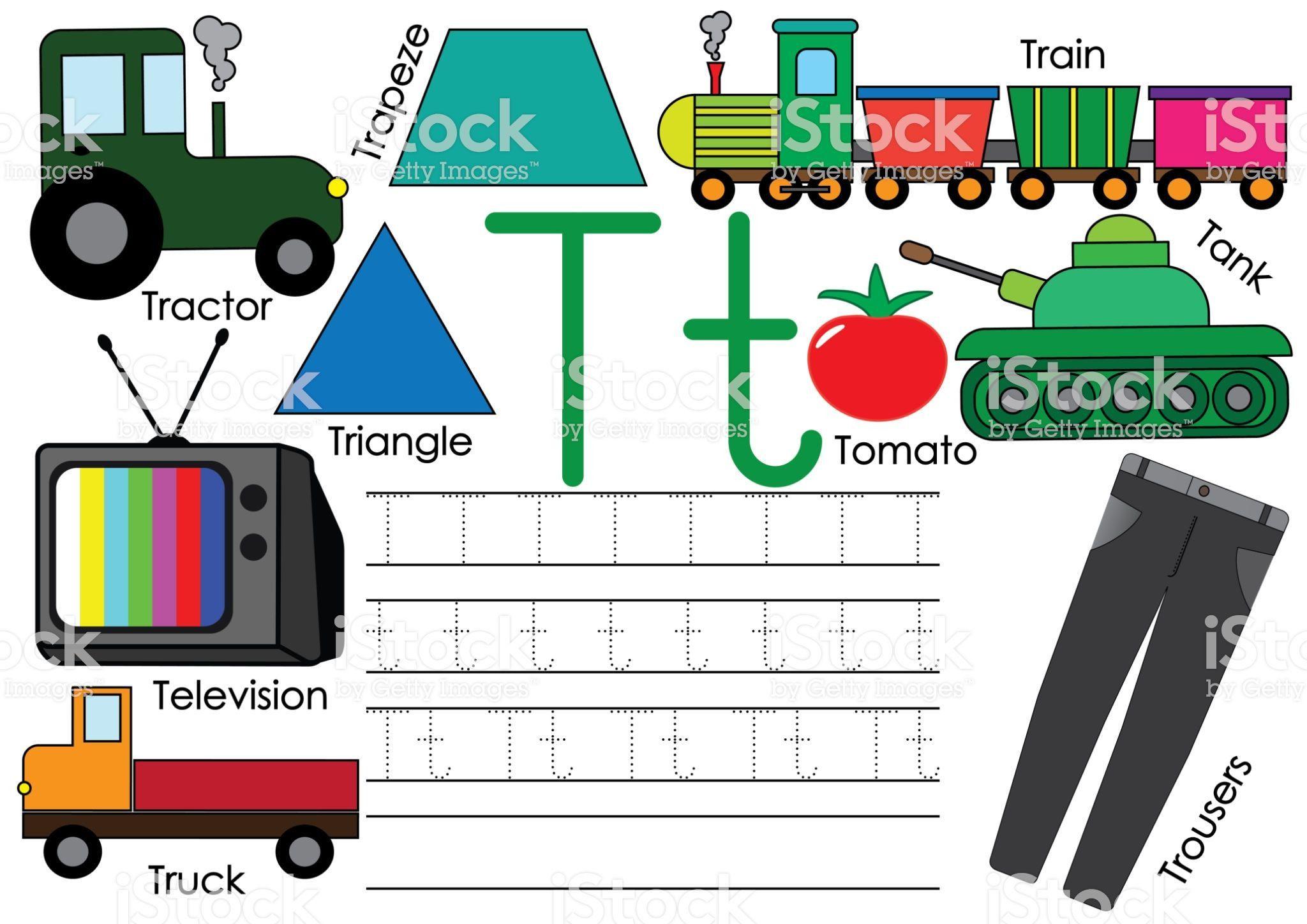 21 Tractor Preschool Worksheets Coloring Style Worksheets