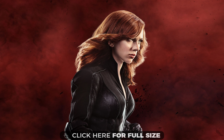 Follow Me Black Widow Scarlett Johansson Avengers
