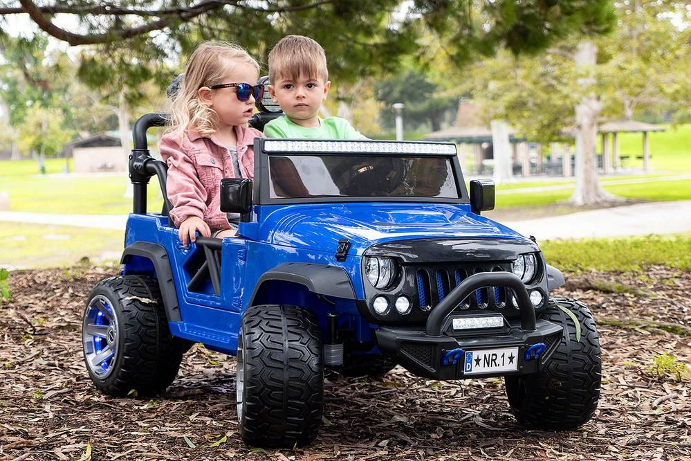 Trail Explorer 12V Kids RideOn Car Truck with R/C