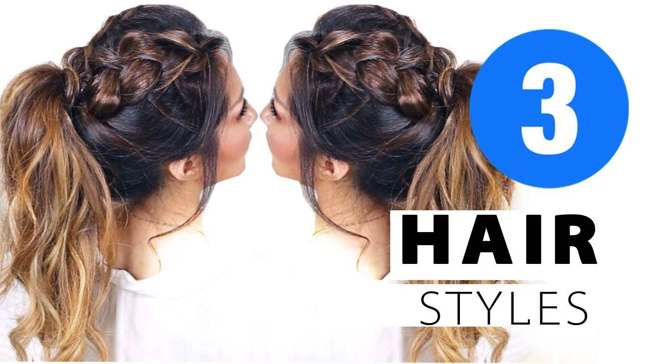 cute af summer hairstyles girls updo hairstyle youtube