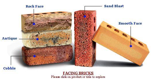 Building Materials: Types of bricks :)   Build   Pinterest   Bricks