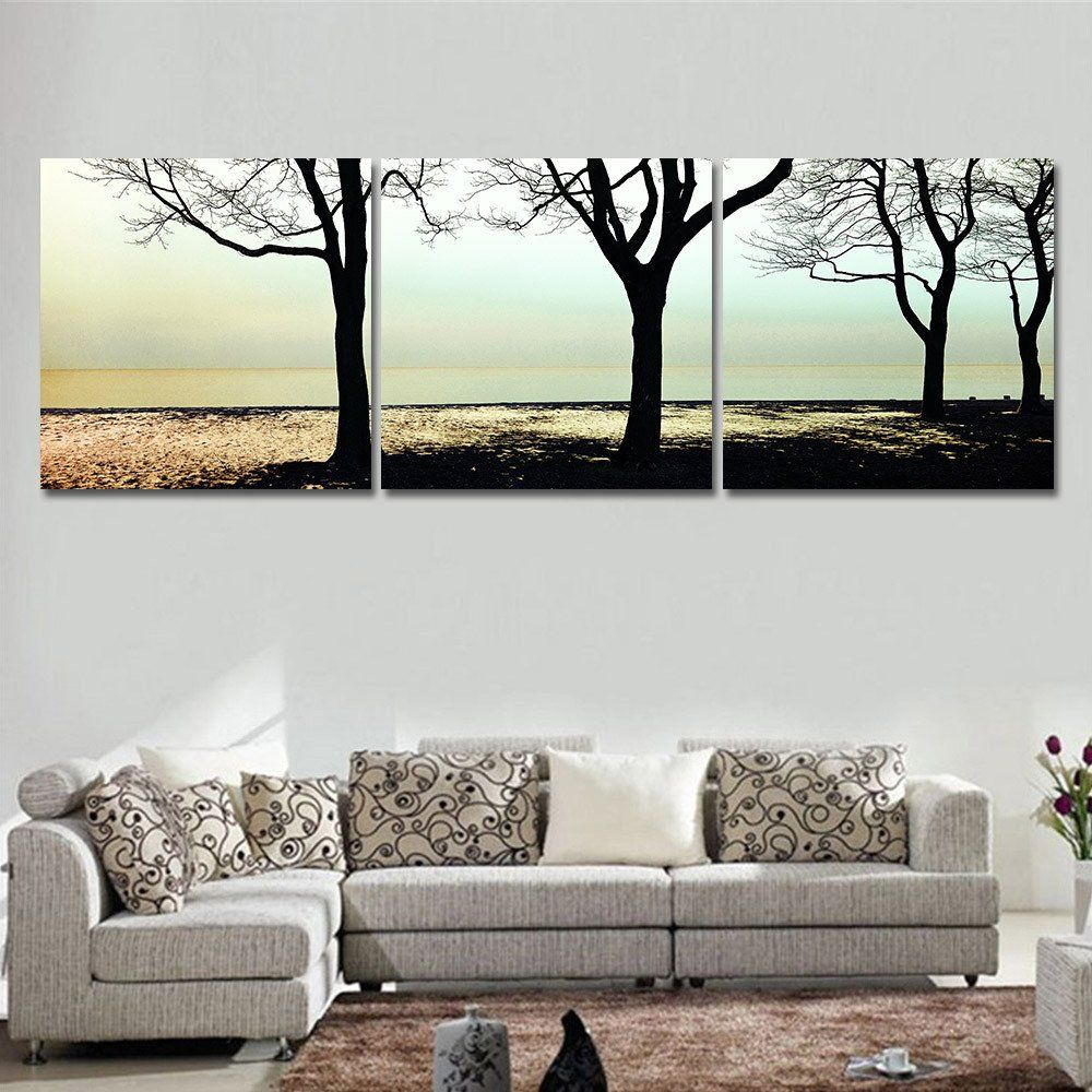 Wall Art For Living Room Oil Painting Cuadros Decoracion Wall Art Home Decor Landscape