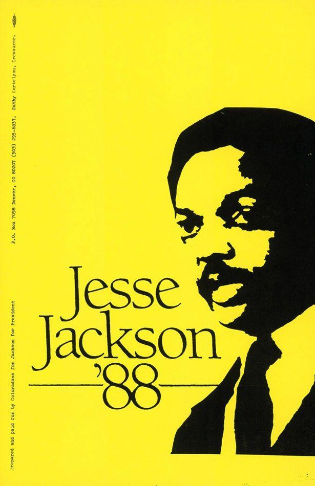 Jesse Jackson, Democratic Party primary election, 1988