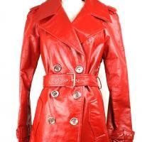 Poppy red patent trench. Michael Kors $345
