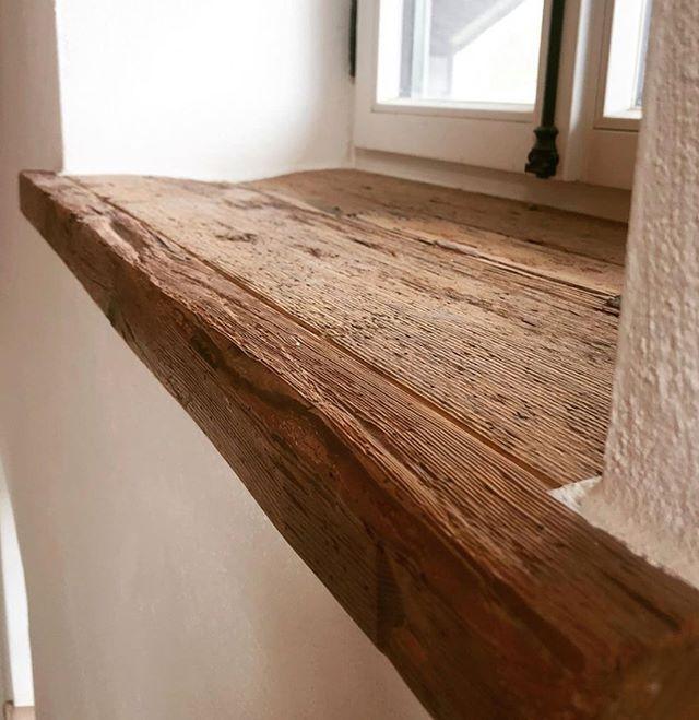 Bauholz Bei Klopfer Kaufen Fensterbank Aus Altholz In 2020 Bauen Mit Holz Fensterbanke Holz Fensterbank Innen Holz