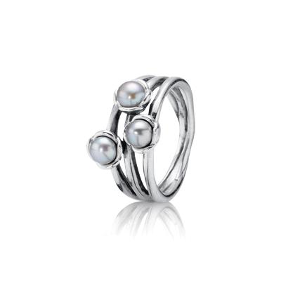 pandora anillo perla