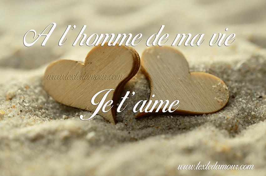 L'homme de ma vie - Textes et messages d'amour en 2020 | Homme de ma vie, Message amour, Lhomme ...