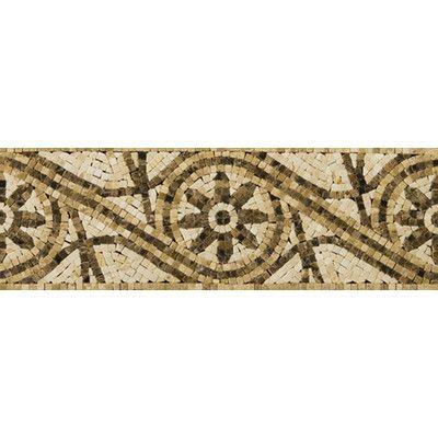 "Emser Tile Natural Stone 12"" x 4"" Honed Marble Rieti Listello"