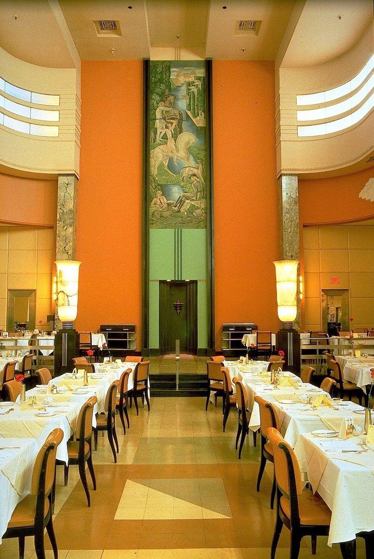 Restaurant du 9e (Eaton\'s Restaurant) – Art Deco restaurant in ...