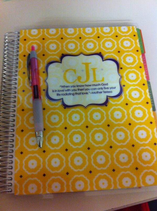 My ADORABLE Erin Condren Life Planner made the Wall of Fame! I\'m ...