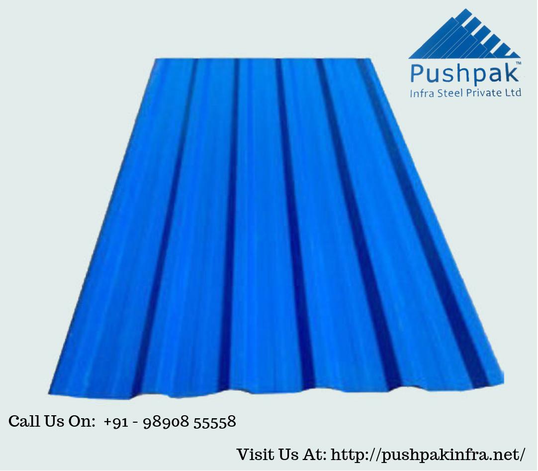 Best Pushpak Infrasteel Is Best Profile Sheets Manufacturer 400 x 300