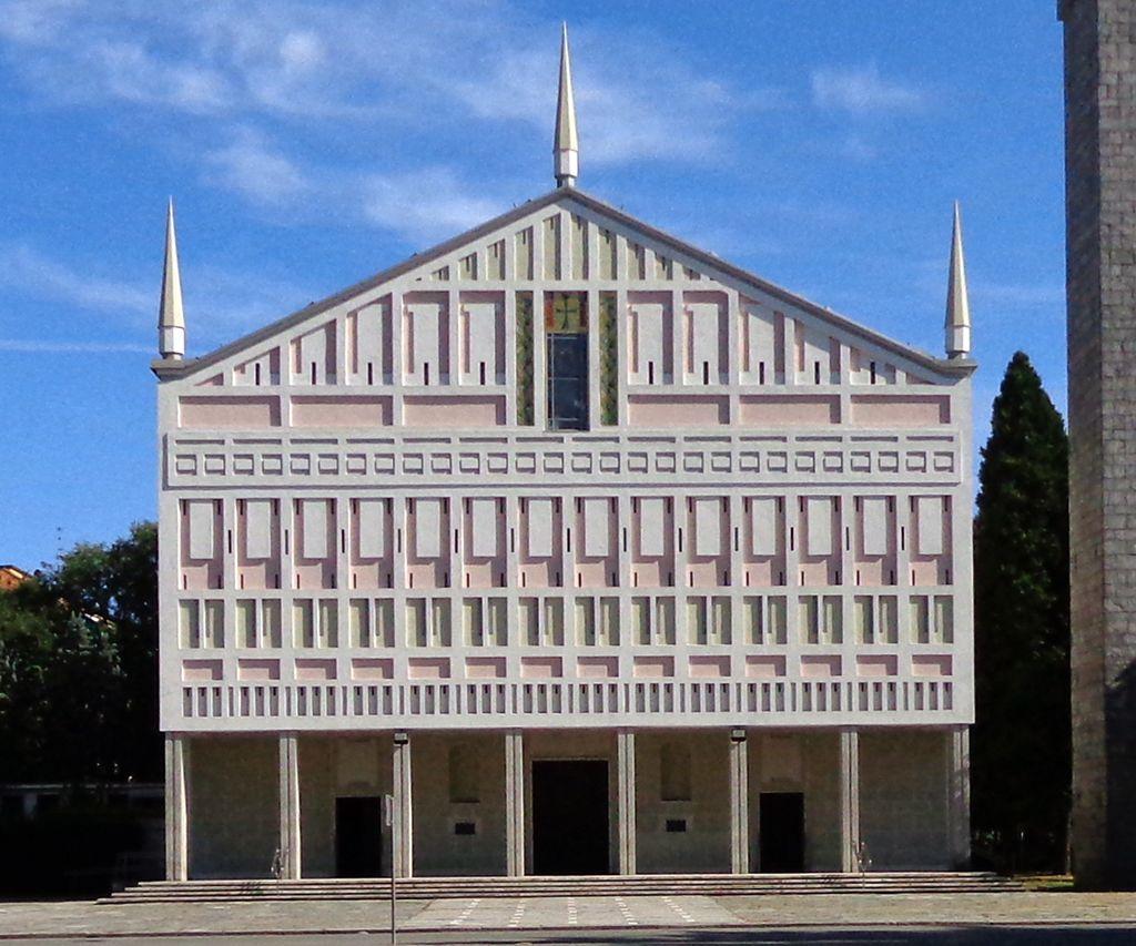 Chiesa di santa barbara san donato milanese mario for Arredamenti ballabio san donato milanese