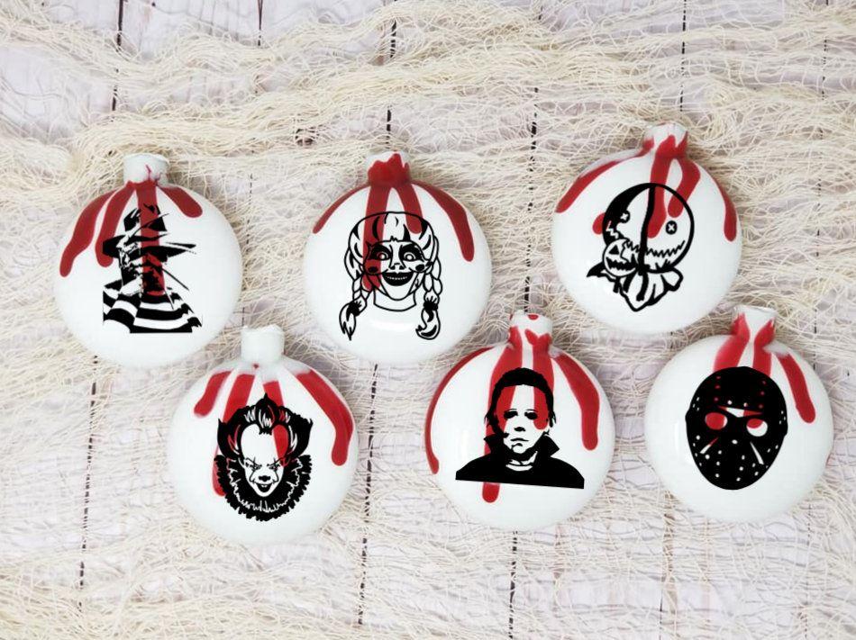 Horror ornaments christmas ornaments gothic ornaments