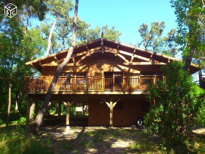 Maison bois de standing 44 hectares au Cap-Ferret Locations & Gîtes ...